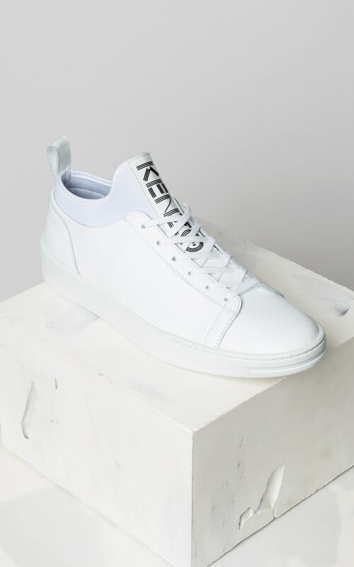 WHITE K-City Trainers for men KENZO