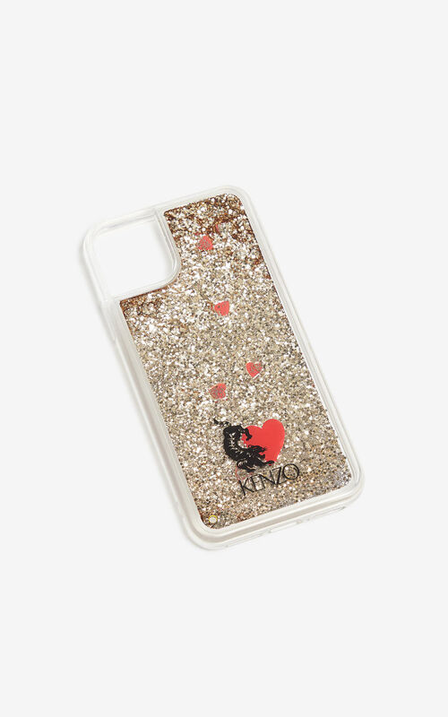 TRANSPARENT iPhone XI Pro Max Case for unisex KENZO
