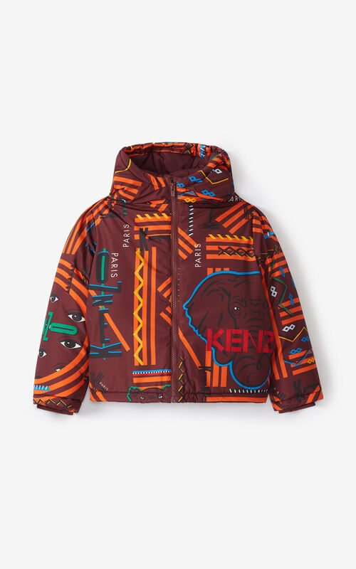 BORDEAUX 'Lima' jacket for unisex KENZO