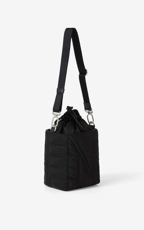 BLACK Small Kube tote bag for unisex KENZO