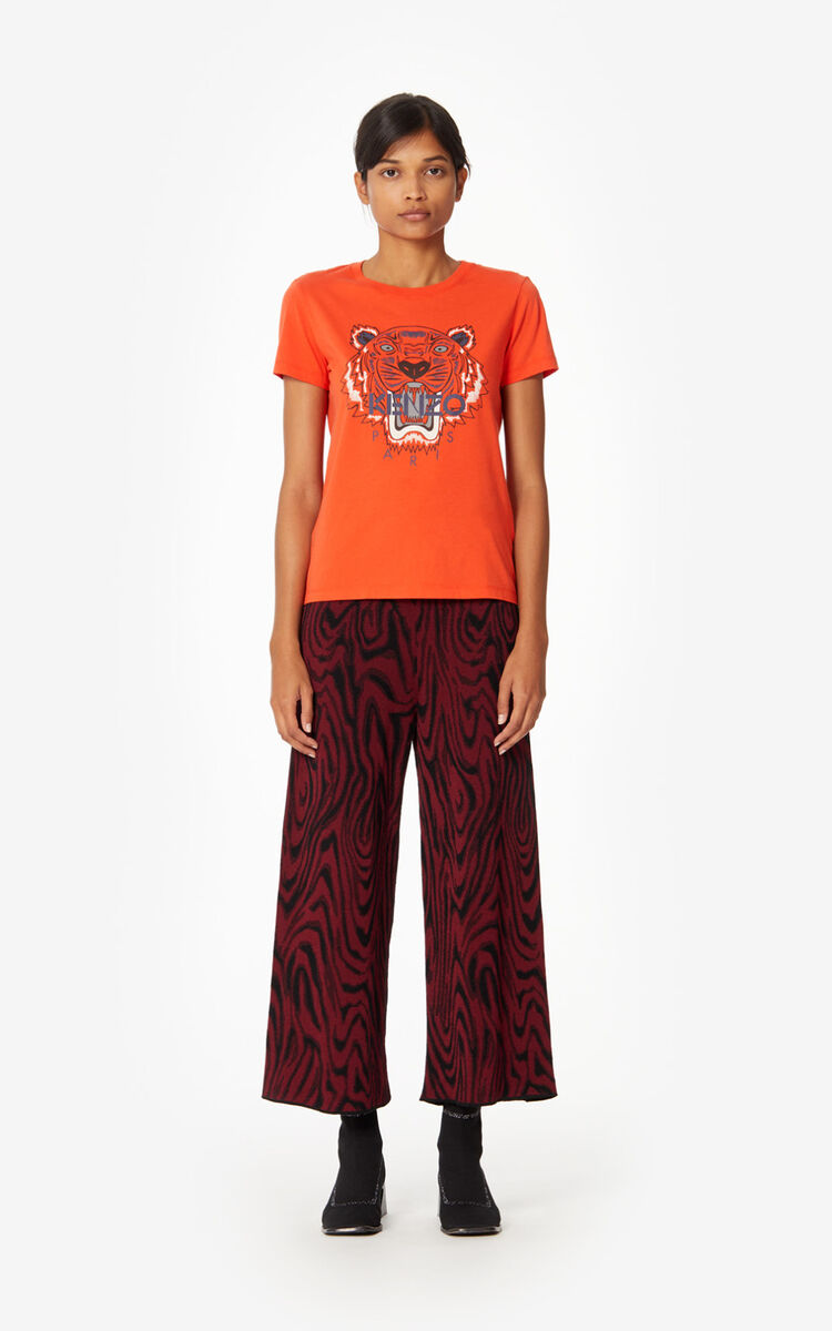 MEDIUM ORANGE Tiger T-shirt for men KENZO
