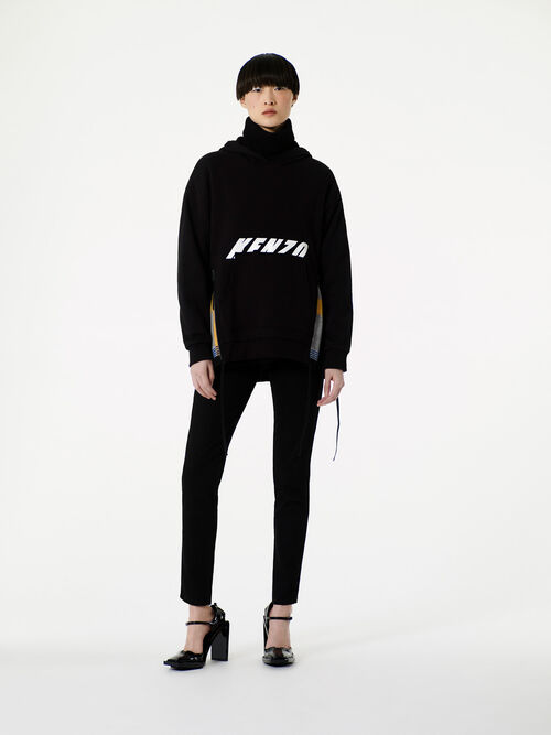 BLACK Hooded KENZO Sweatshirt for women