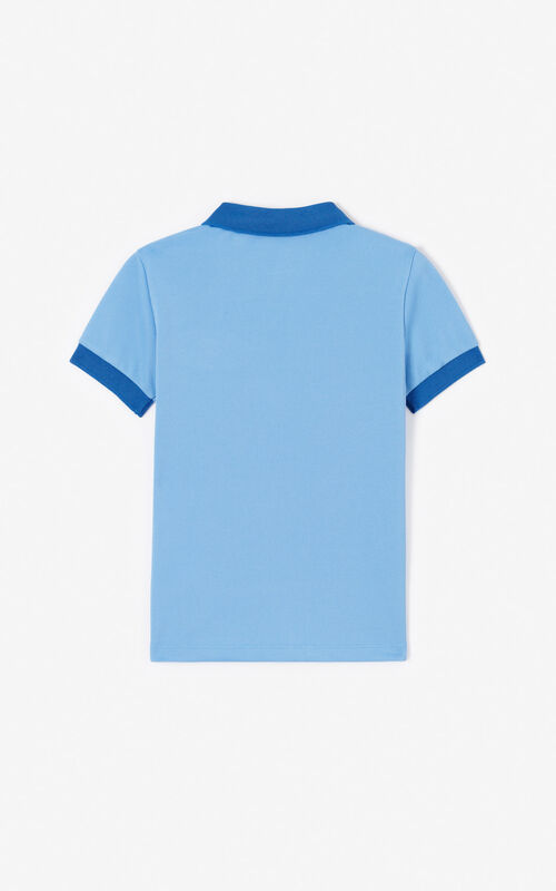 BLUE 'Cali Party' Polo for men KENZO