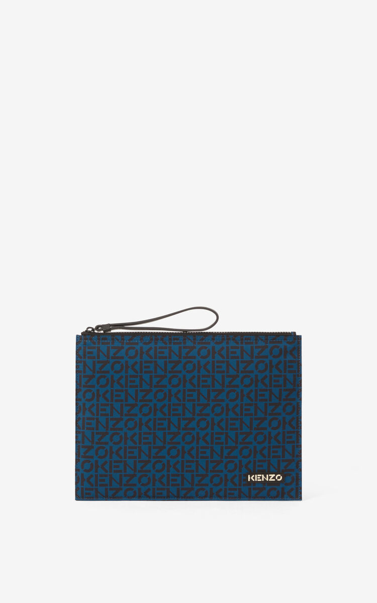 INK KENZO Repeat large clutch for unisex