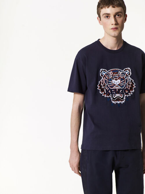 INK Frame Check' x Tiger T-shirt for women KENZO