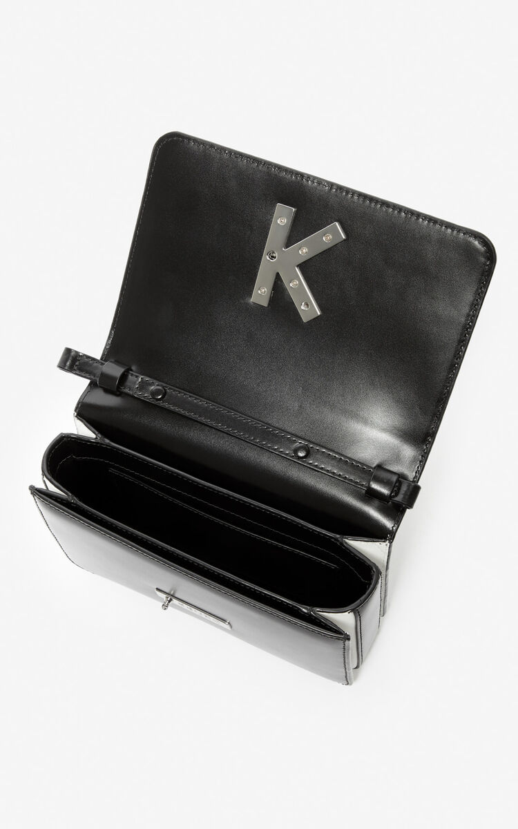 BLACK 'Dots' K-Bag Chainy bag for unisex KENZO