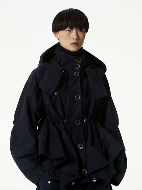 NAVY BLUE 'Peplum' Jacket for women KENZO