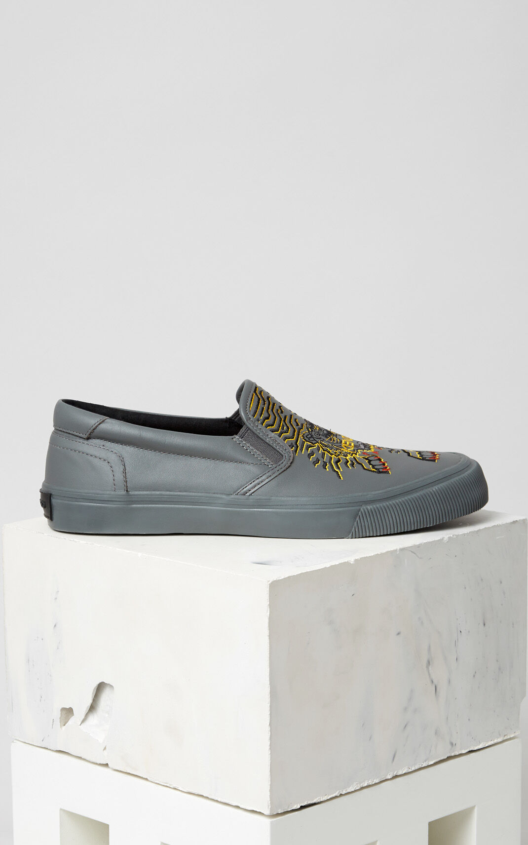 MIDDLE GREY K-Skate' sneaker x 'Géo Tiger' for men KENZO