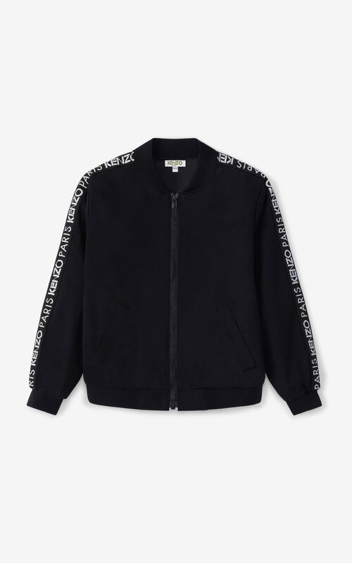 BLACK 'Vegas' bomber jacket for women KENZO