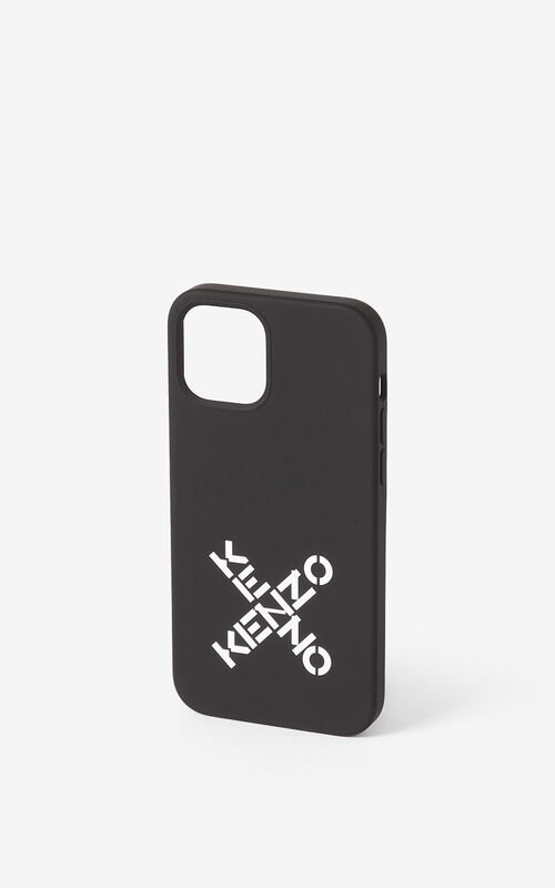 BLACK iPhone 12 Pro case for unisex KENZO