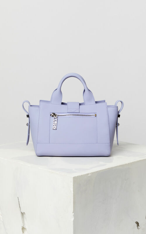 LAVENDER Mini Kalifornia bag Gommato leather for unisex KENZO
