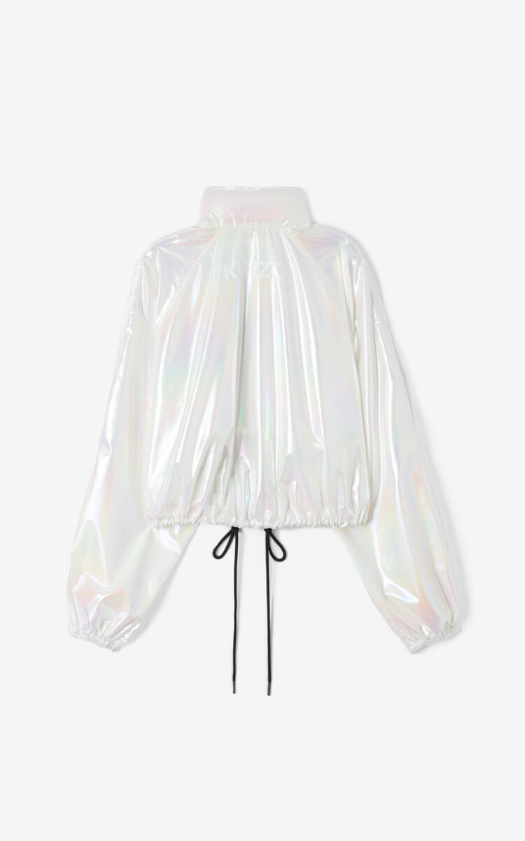 FADED PINK Cropped iridescent windstopper for women KENZO