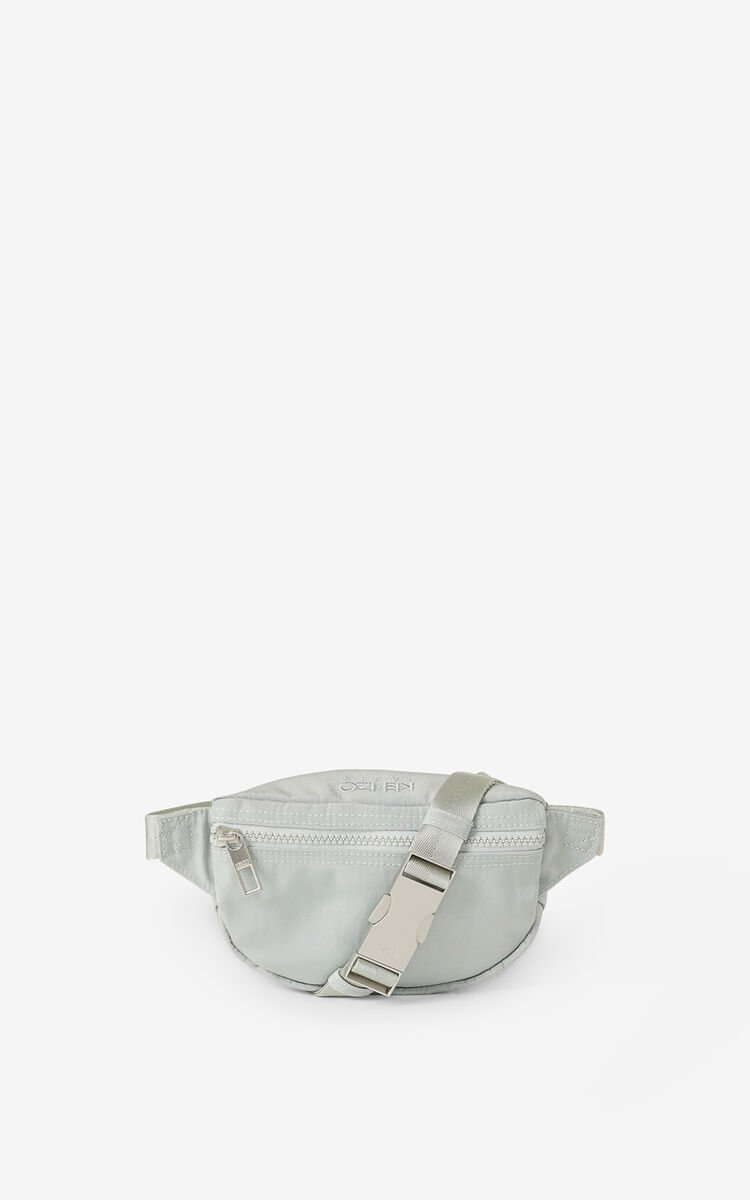 SAGE GREEN Kampus Tiger small bumbag for unisex KENZO