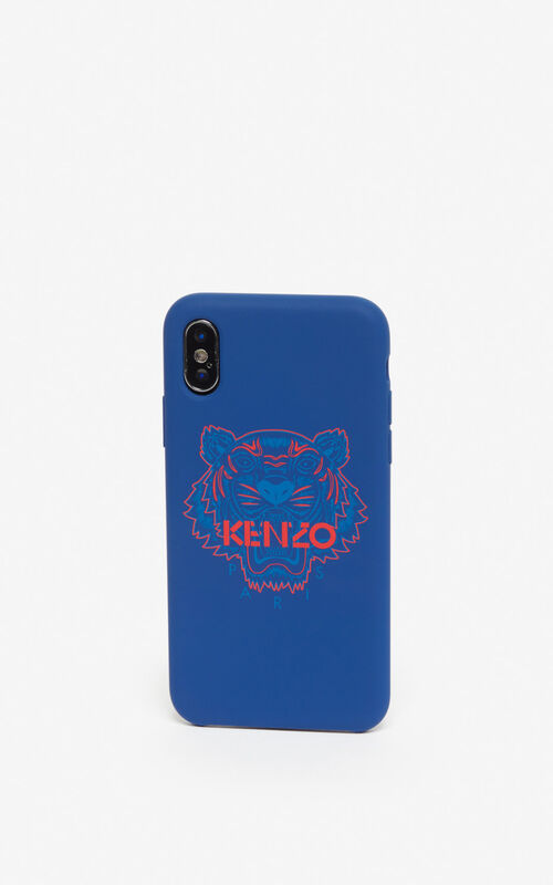 NAVY BLUE iPhone X/XS Case for women KENZO