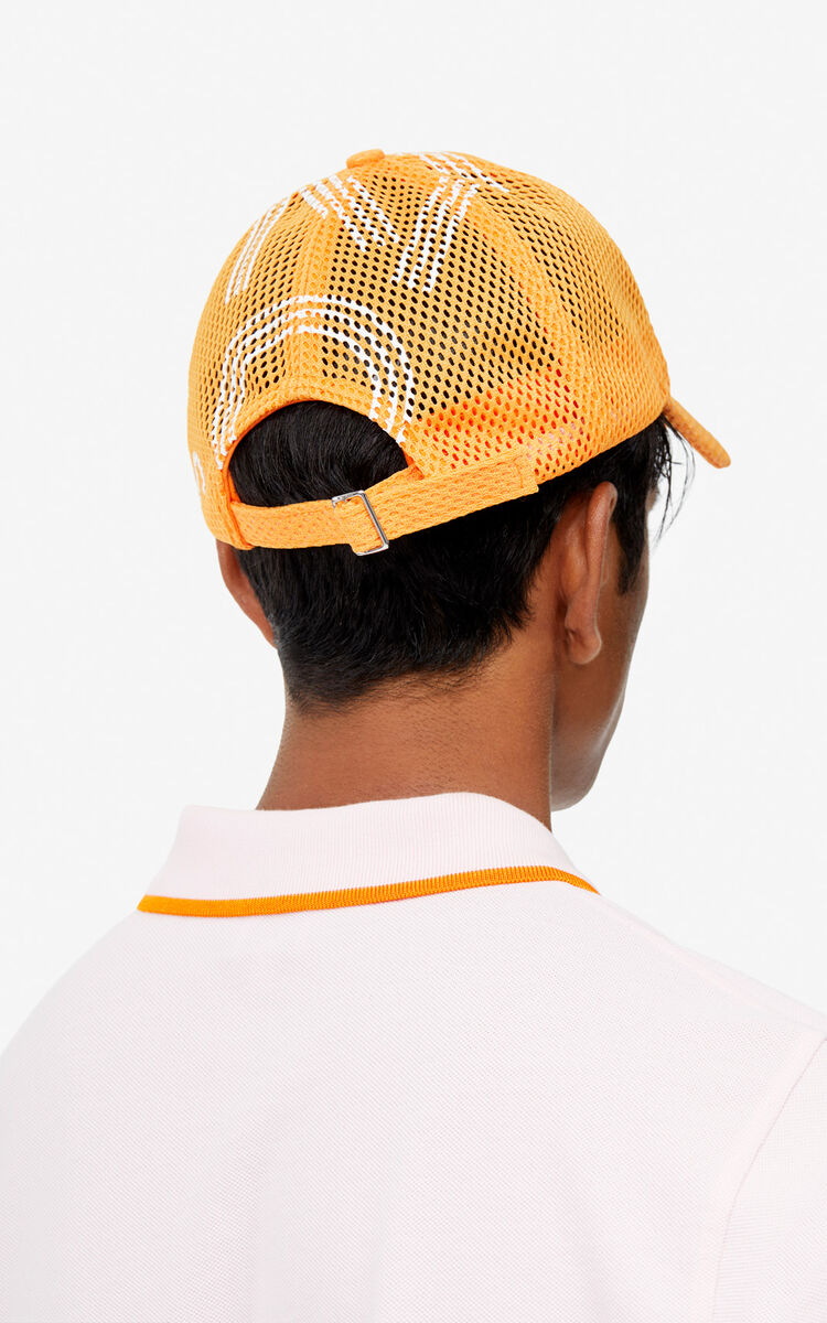 MEDIUM ORANGE Mesh-Cap KENZO Logo für damen