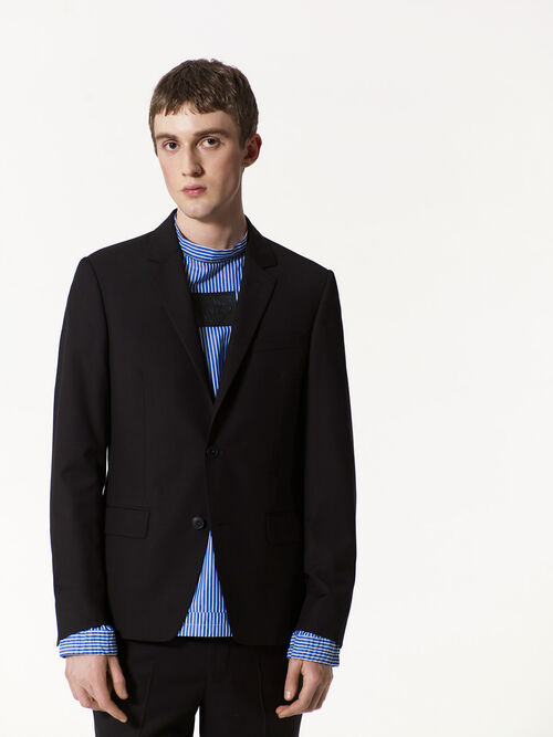 BLACK Wrinkle Free Blazer for men KENZO