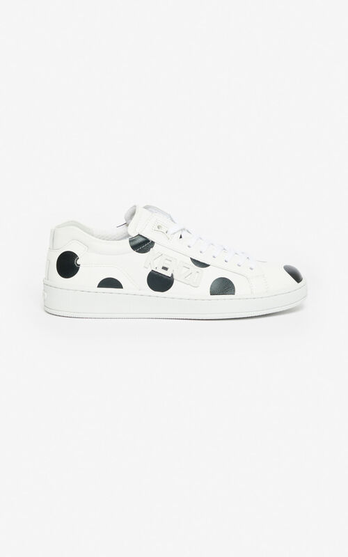 BLACK 'Dots' Tennix sneakers for unisex KENZO