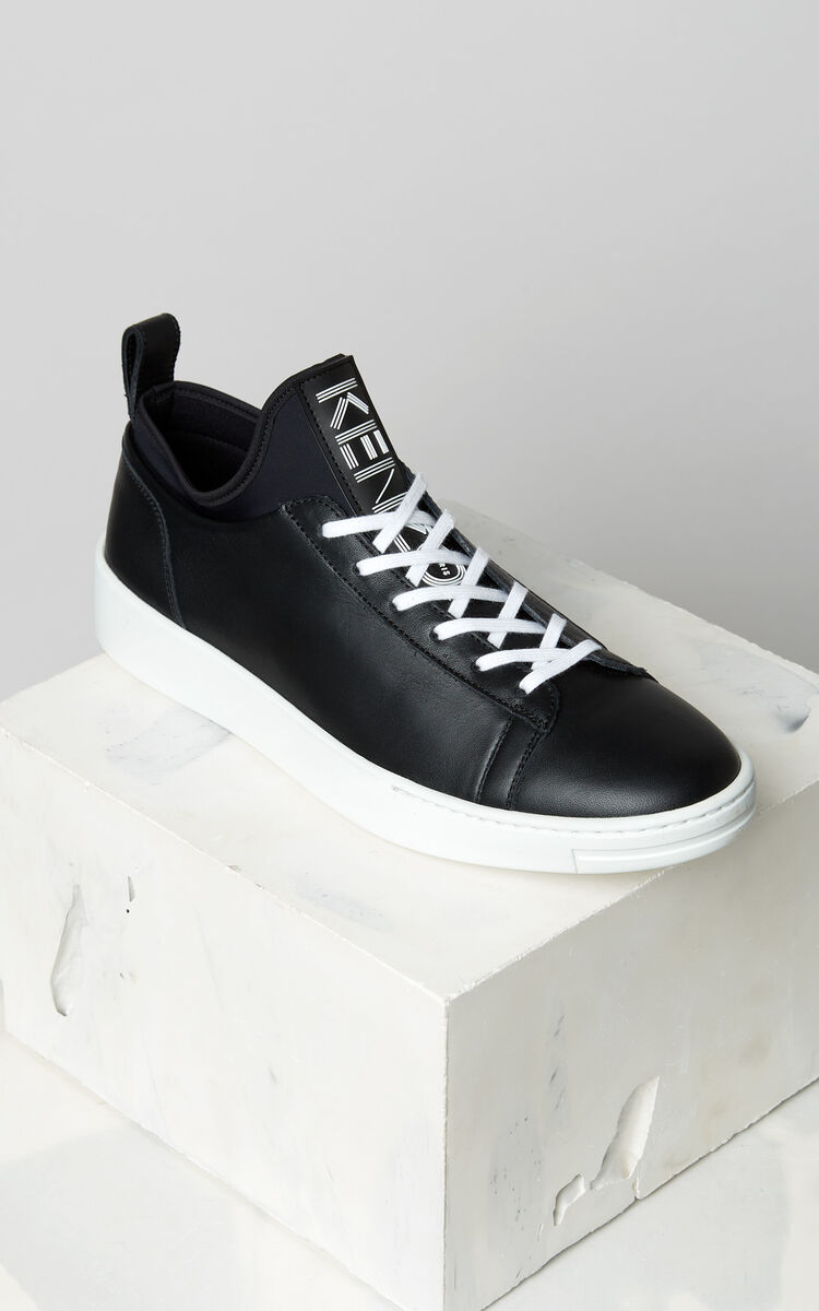 BLACK K-City Sneakers for unisex KENZO