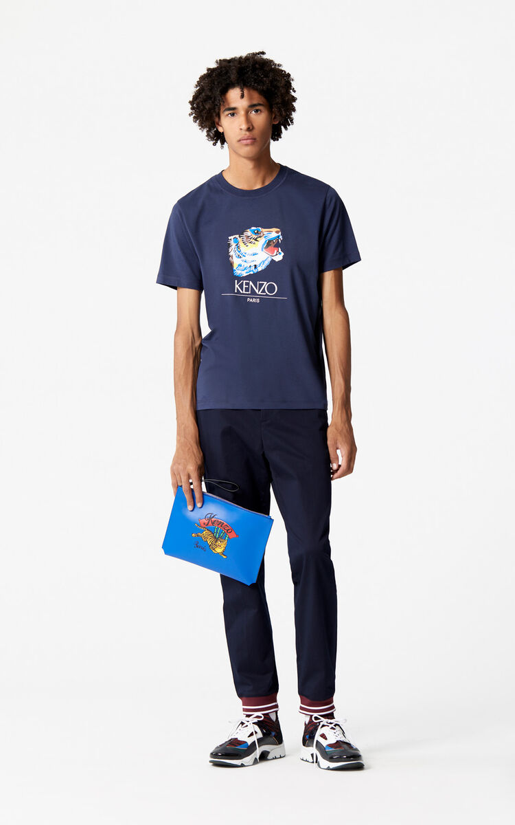 INK 'Tiger Head' T-Shirt 'Go Tigers Capsule' for men KENZO