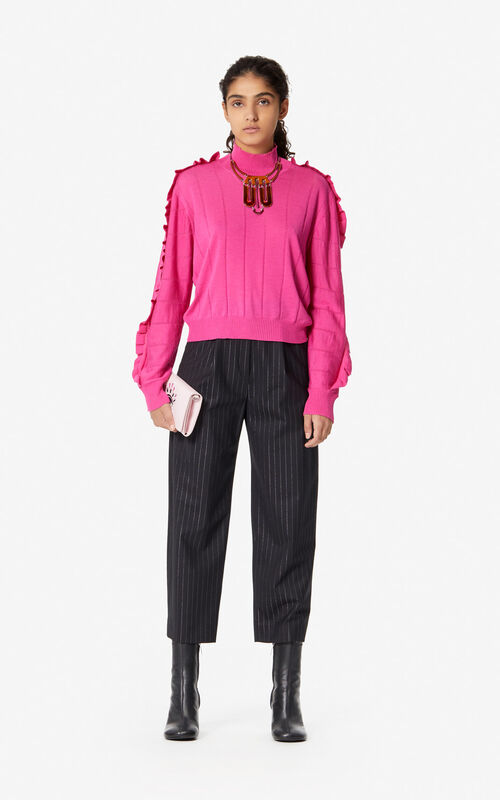 BEGONIA Frilled jumper for women KENZO