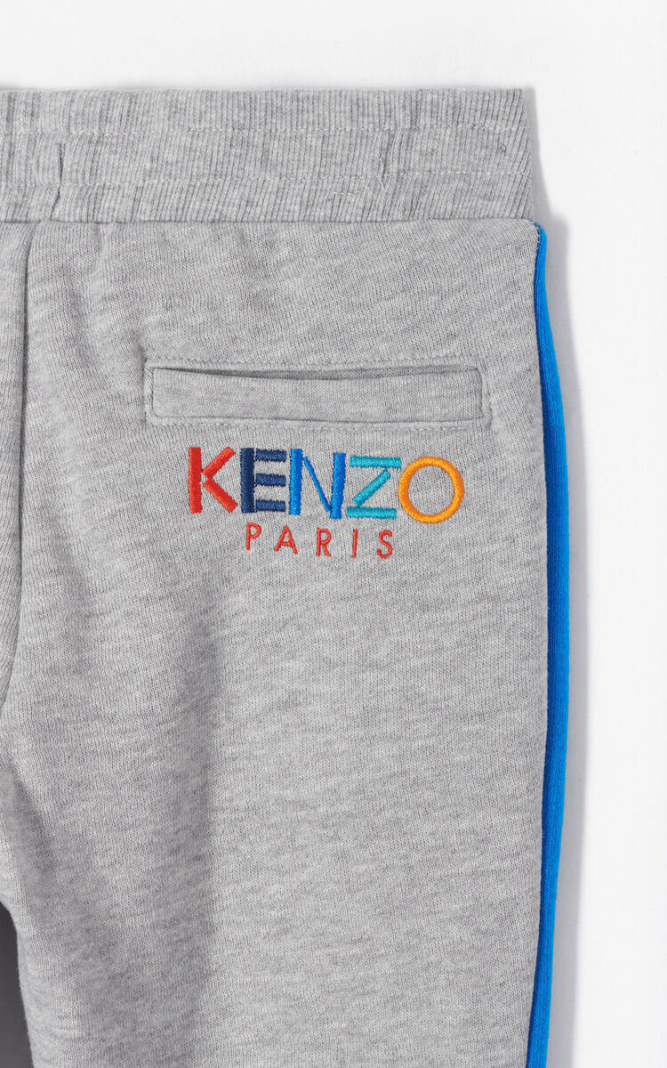 MIDDLE GREY 'Frozen' jogging pants for men KENZO