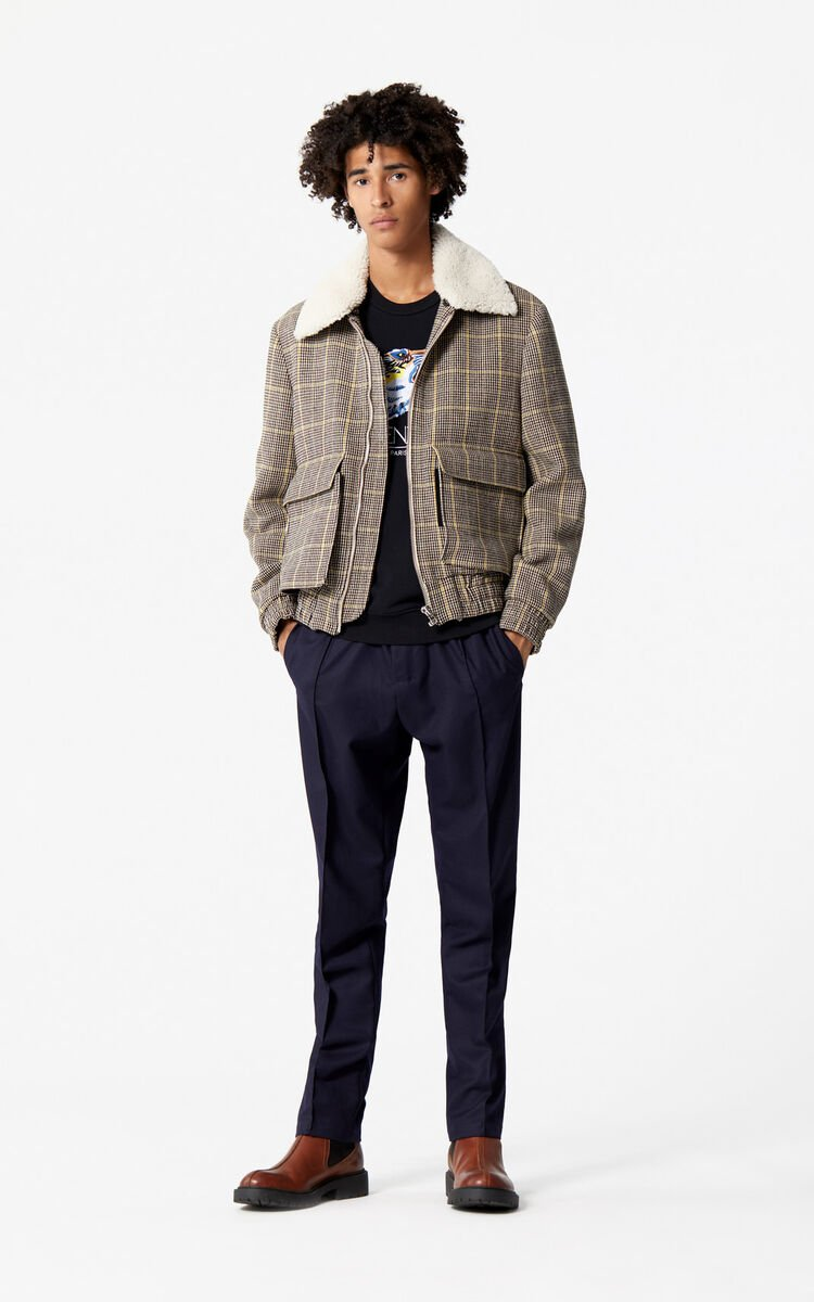 PALE CAMEL Aviator Jacket for men KENZO