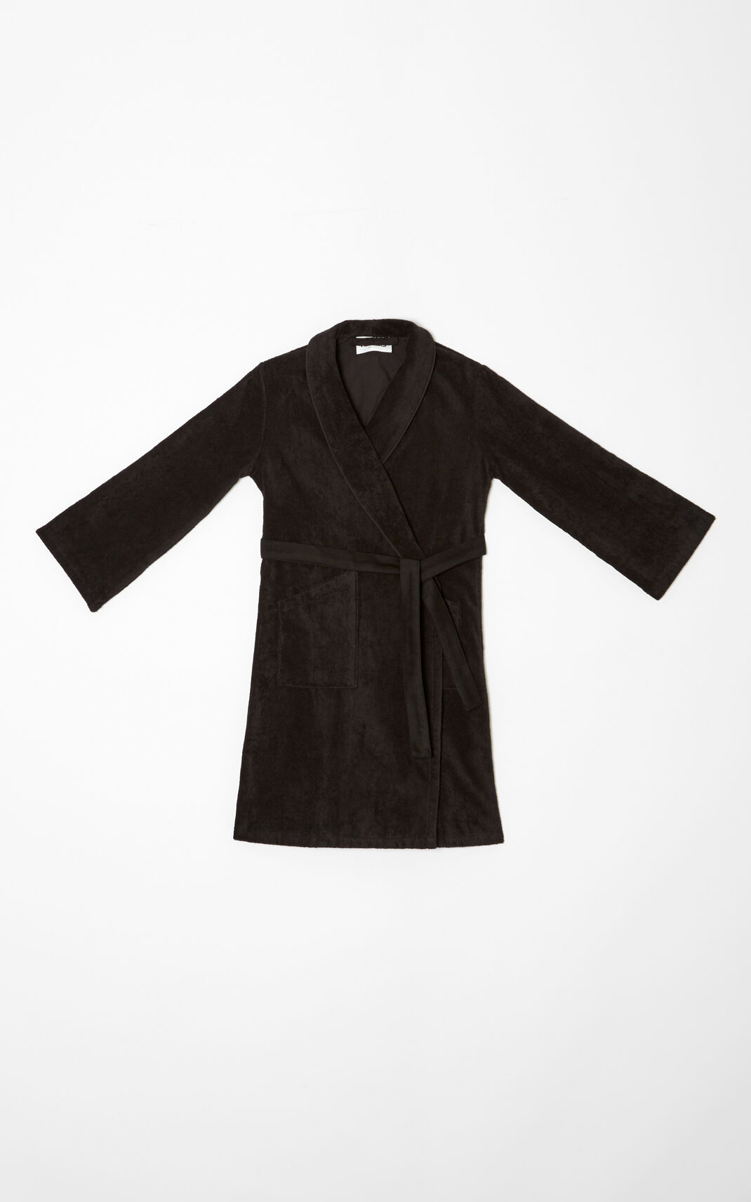BLACK Tiger Dressing Gown for women KENZO