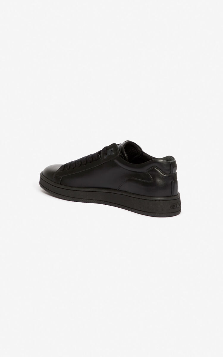 BLACK Tennix sneakers for unisex KENZO