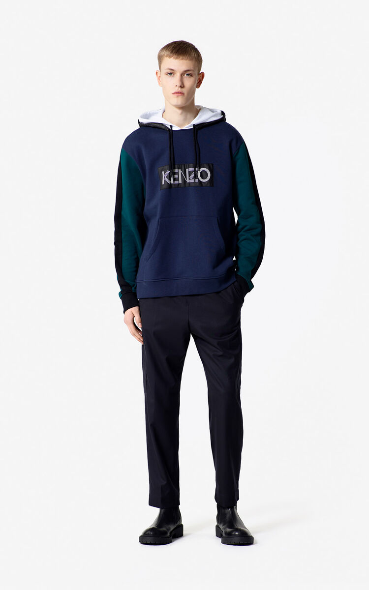 INK KENZO Logo Colour Block Sweatshirt for men