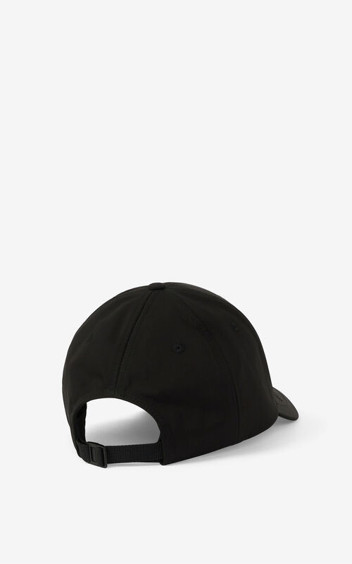 BLACK KENZO Sport 'Little X' baseball cap for unisex