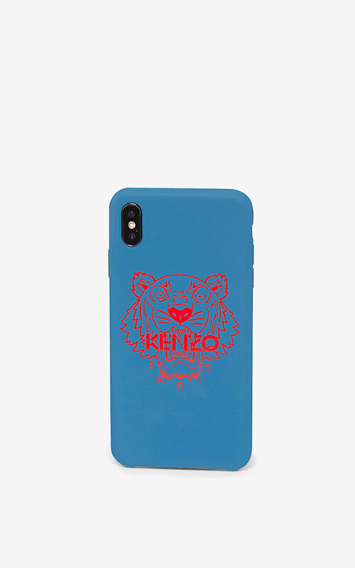 ROYAL BLUE iPhone XS Max Case for unisex KENZO