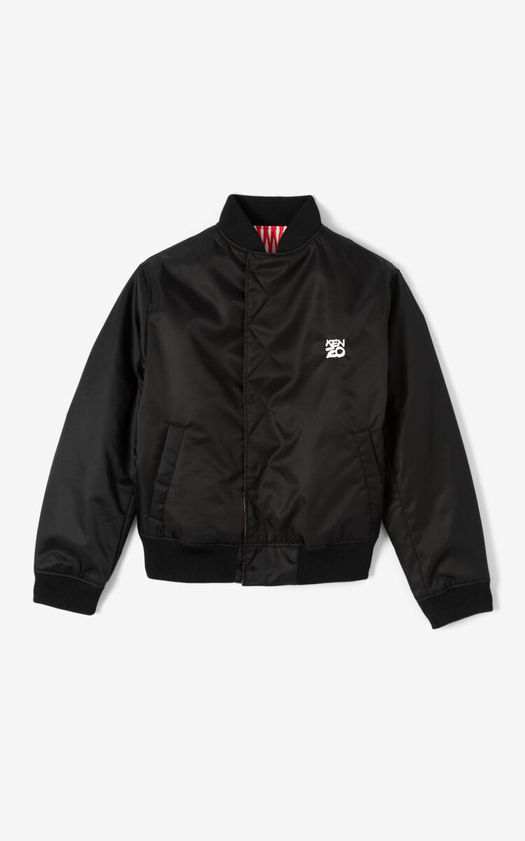 OFF WHITE Reversible 'Fishnet' bomber jacket for women KENZO