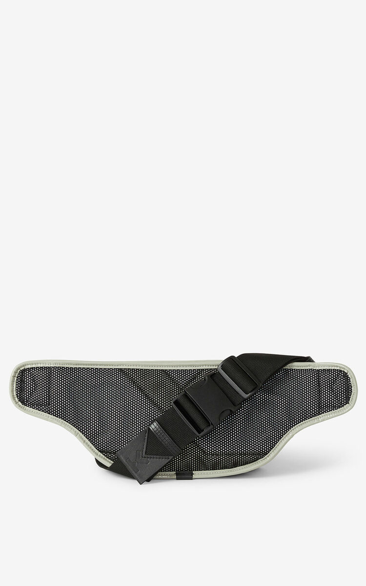 DOVE GREY KENZO Sport belt bag for women
