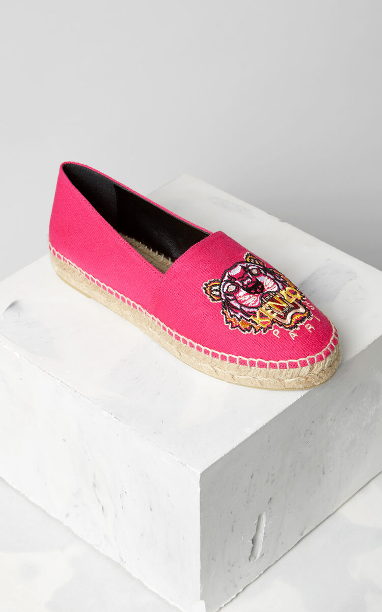 DEEP FUSCHIA Tiger Espadrilles for women KENZO