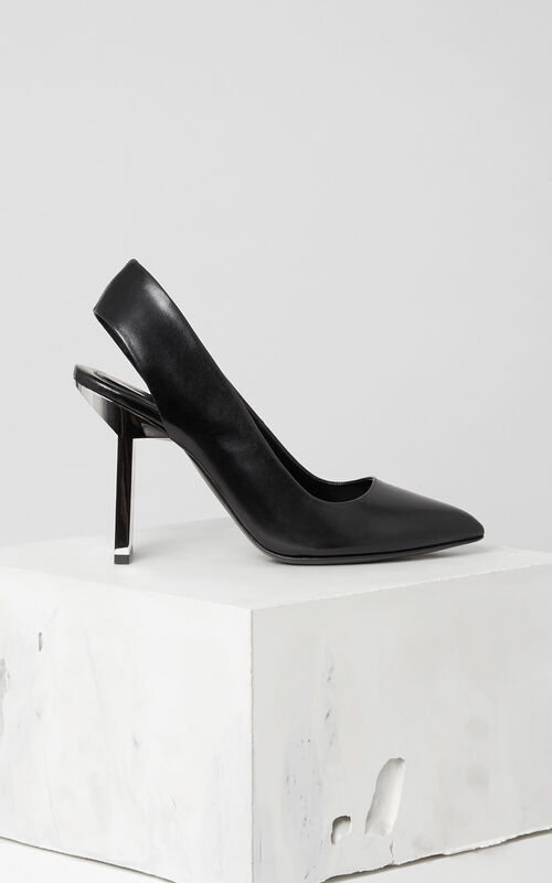 BLACK Statement Slingback Pumps for women KENZO