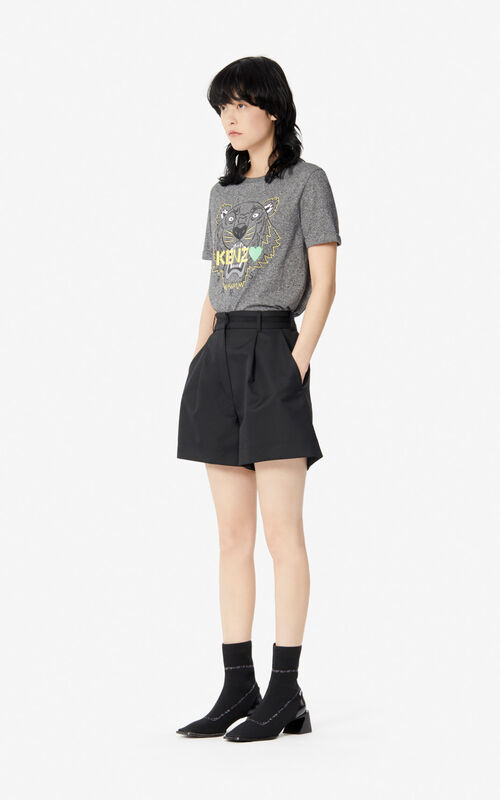 ANTHRACITE Tiger T-shirt for women KENZO