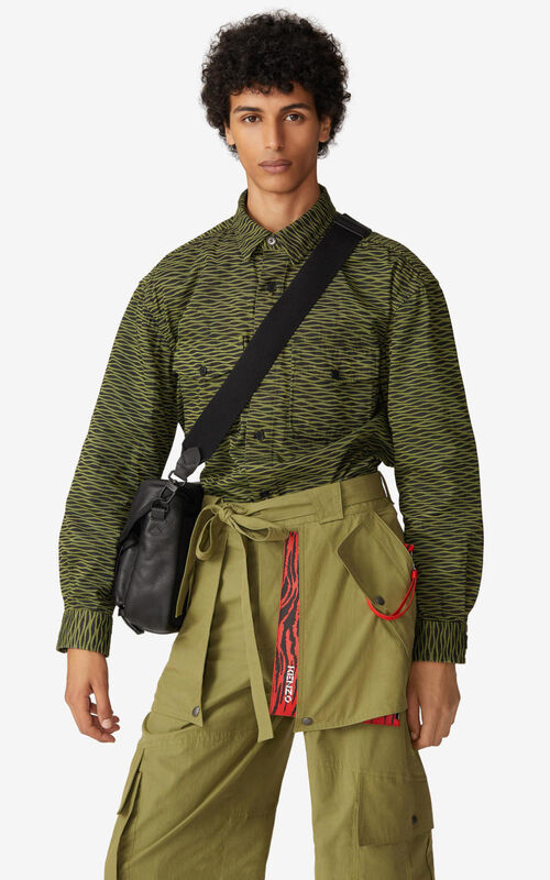 OLIVE Wave' overshirt for men KENZO