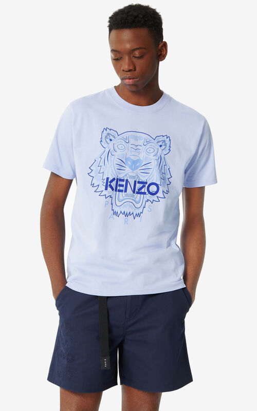 LAVENDER Tiger 'High Summer Capsule Collection' T-shirt for men KENZO