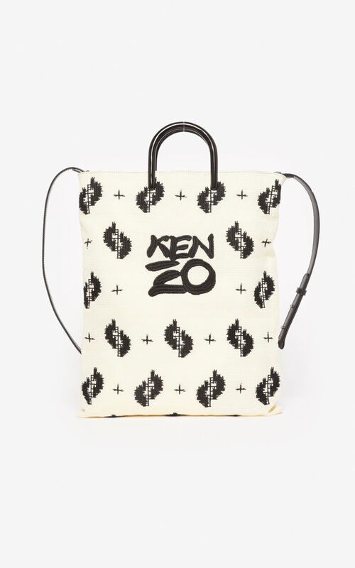 OFF WHITE 'Ikat' tote bag for unisex KENZO