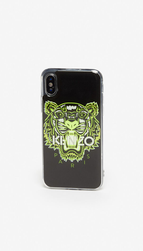 BLACK iPhone XS Max Tiger case for men KENZO