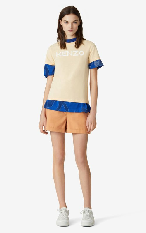 PEACH KENZO Logo T-shirt     for women