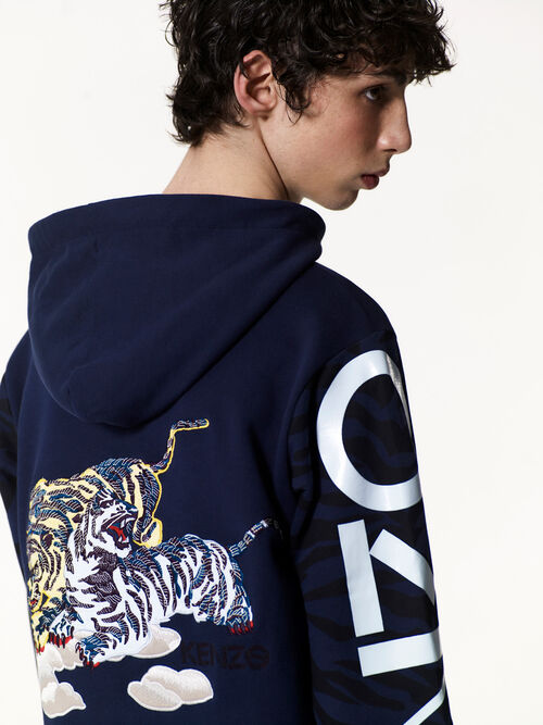 INK Vintage Tiger hoodie for men KENZO
