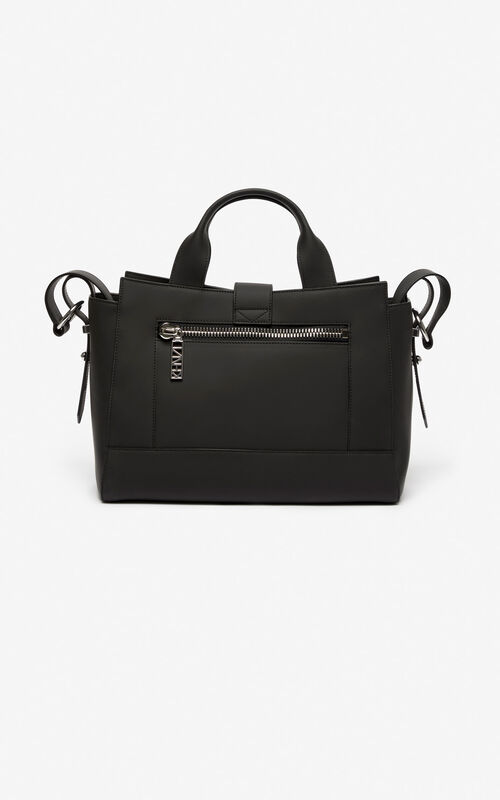 BLACK Kalifornia bag Gommato leather for women KENZO