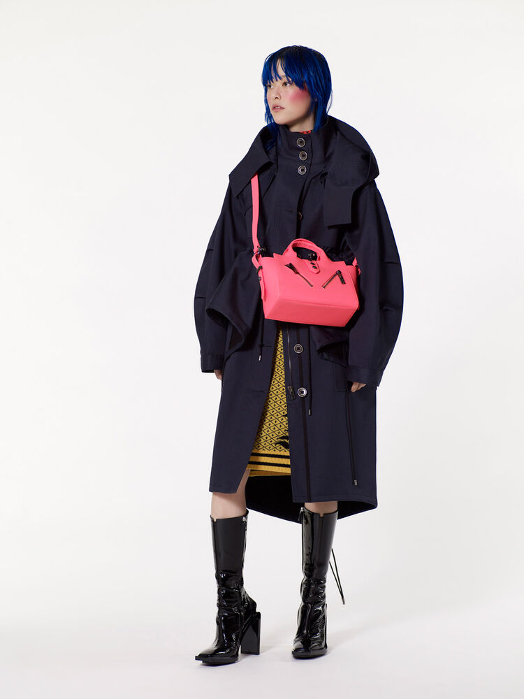 NAVY BLUE 'Peplum' Parka for women KENZO
