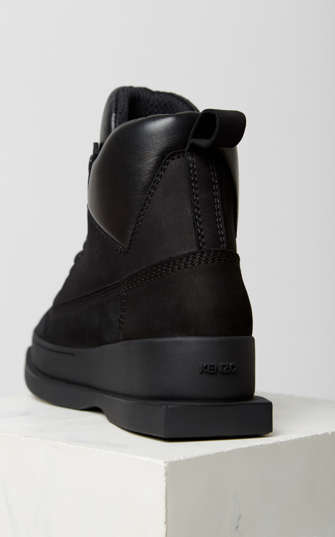BLACK Nevada boots for women KENZO
