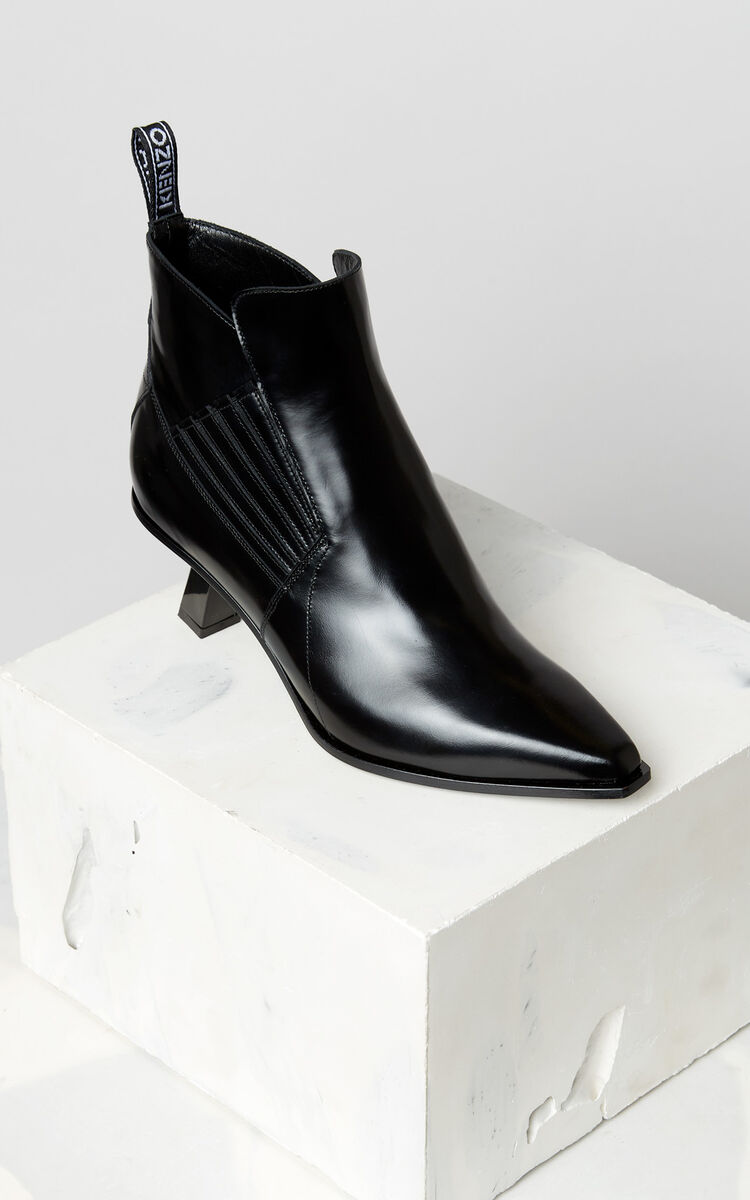 BLACK Rider ankle boots for women KENZO