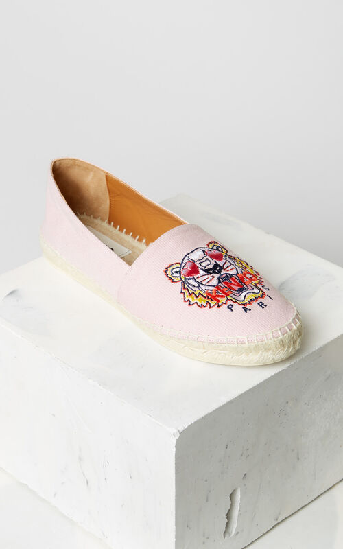FLAMINGO PINK Tiger espadrilles for unisex KENZO