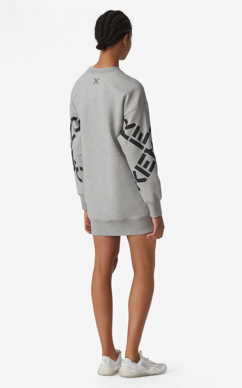 PEARL GREY KENZO Sport 'Big X' sweatshirt dress for women
