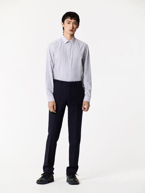 WHITE KENZO Pinstripe  Shirt  for men