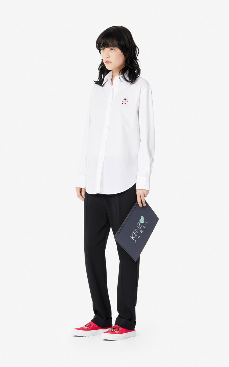 WHITE 'Cupid' shirt 'Capsule Back from Holidays' for women KENZO